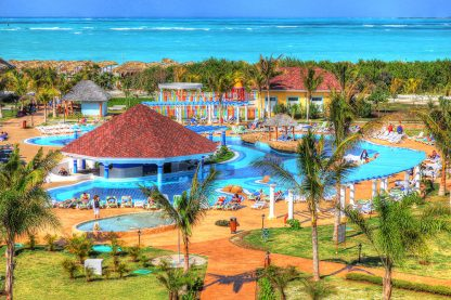 Colorful Caribbean Resort 1