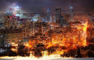Beautiful Montreal City Photo Montage 11