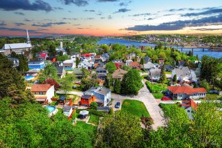 Colorful Saguenay City 1