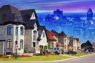 Urban Sprawl Photo Montage