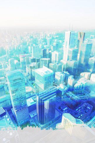 Urban Vertical Cityscape