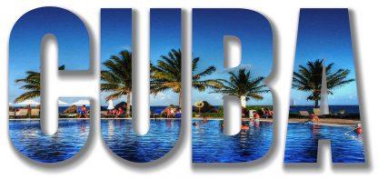 Cuba Text Photo Montage 1
