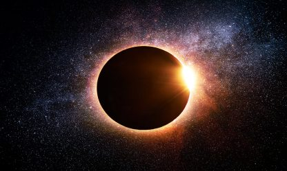 Amazing Solar Eclipse in Space 1