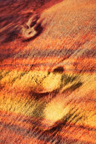 Inspiring Abstract Footpath in Sand 1