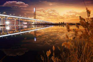 Amazing New Champlain Bridge in Montreal City 1