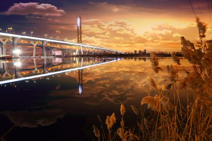 Amazing New Champlain Bridge in Montreal City 1