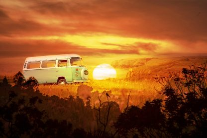 Vintage VW Camper Van Road Trip 05