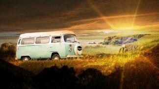 Vintage VW Camper Van Road Trip 06