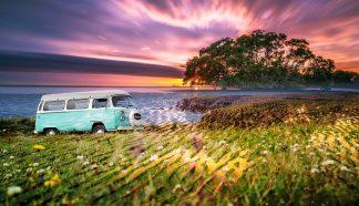Vintage VW Camper Van Road Trip 08