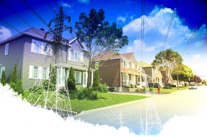 Residential Street Electrification on White