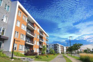 Modern Apartment Building Community